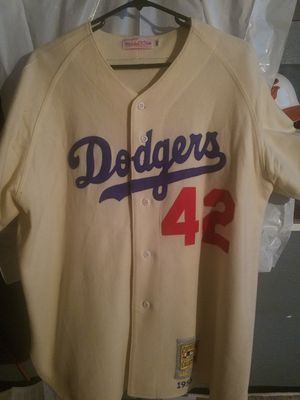 DODGERS ORIGINAL JERSEY JACKIE ROBINSON  42 . for Sale in Los Angeles 70baefd4a7f