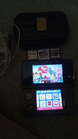 Nintendo 3ds no more games and case for Sale in Malden, MA