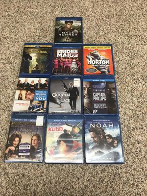 Blu-Ray movies for Sale in Salem, MO