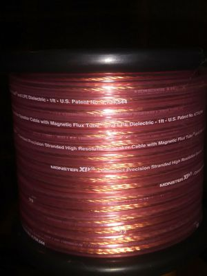 Speaker Cable (Monster XP ) 16 gauge for Sale in Alta Loma, CA