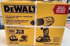 "1/2"" dewalt hammer drill/driver for Sale in Tacoma, WA"