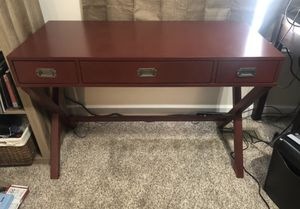 Modern Red Desk for Sale in Davenport, IA