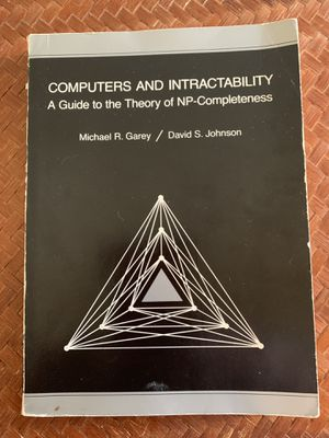 Computers and Intractability by Michael Garey & David Johnson for Sale in Roanoke, VA