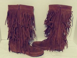 Refresh Jolin 02 Fringe Boots for Sale in Greensboro, NC