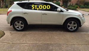 $1,OOO URGENT For sale 2003 Nissan Murano SL 4-Door very clean condition for Sale in Savannah, GA