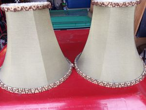 Two Decorative Lamp Shades for Sale in Cypress, TX