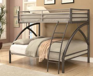 🎯Brand New Twin Over Full Bunk Bed Bed Frame! for Sale in Warner Robins, GA