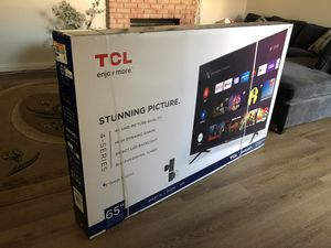 """TCL 65"""" android tv for Sale in Fontana, CA"""