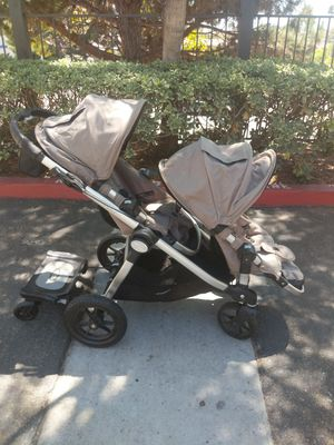 City Select double stroller with glider board for Sale in San Diego, CA