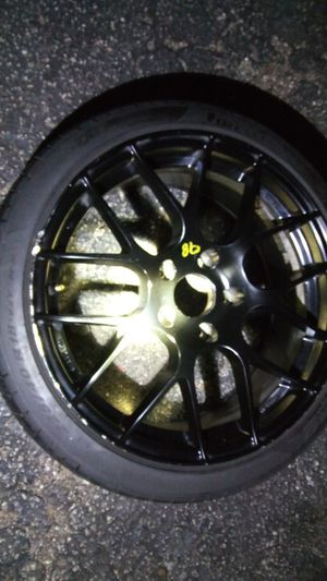 Rims for bmw benz came off a bmw... Tires are new rims good shape. Starget wheels 500$ our best offer for Sale in St. Louis, MO