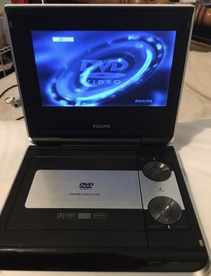 Phillips Portable DVD Player w/Travel Case for Sale in Concord, NH