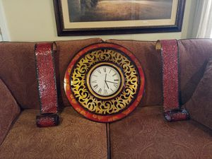 Clock and Candle Sconces for Sale in Mesquite, TX