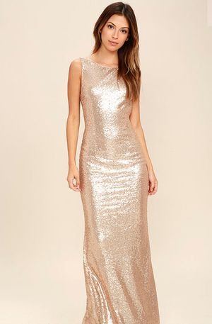 Rose Gold sequence dress for Sale in Riverside, IL