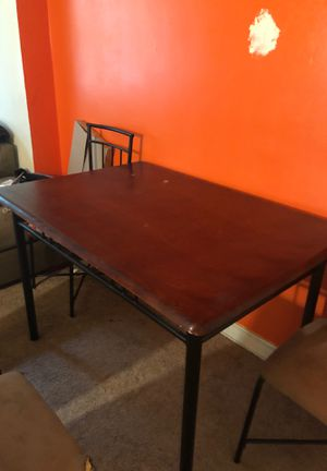 Kitchenette table .... Must Go ASAP w/o chairs $45 for Sale in Washington, DC