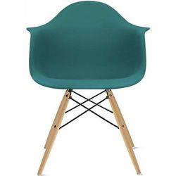 MCM Teal Eames Eiffel-style Arm Desk Side Chair for Sale in Seattle,  WA