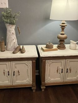 Matching quality wood nightstands for Sale in Sanford,  NC