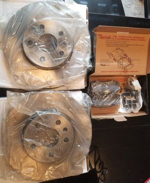 Brand new ceramic front brake pads and rotors for GMC, Chevy, and Buick for Sale in Vista, CA