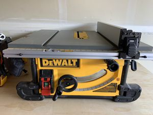 DeWalt Table Saw and Stand for Sale in Vancouver, WA