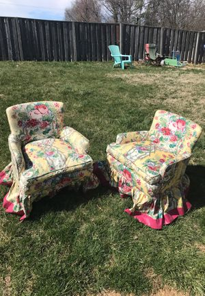 Vintage chairs for Sale in Falls Church, VA