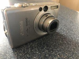 CANON600 digital camera for Sale in Edmonds, WA
