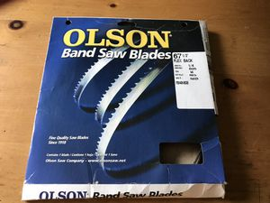 """Olson Brand 67.5"""" Flex Black New Band Saw Blade for Sale in Goodlettsville, TN"""