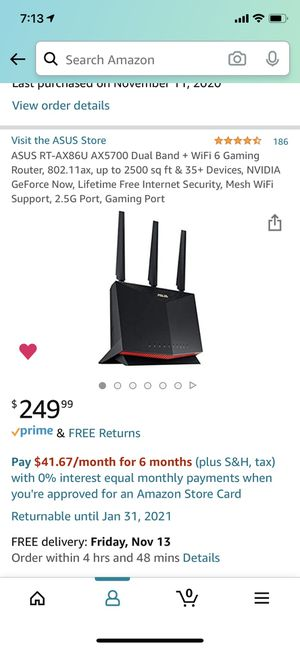 ASUS RT-AX86U Gaming Router for Sale in Rosemead, CA