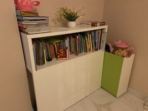 Storage shelf w rolling out small shelf for Sale in Staten Island, NY