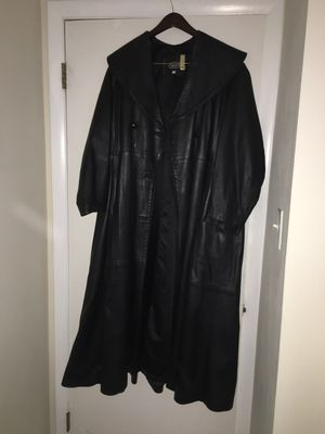 Real Leather coat for Sale in Fairfax, VA