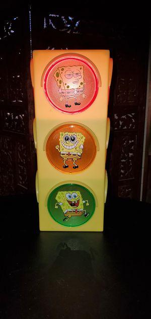 Sponge Bob Blinking Traffic Light Lamp for Sale in Tucson, AZ