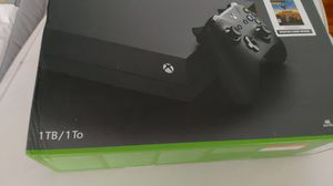 Brand New Xbox one x 1tb and 1 game for Sale in Boston, MA