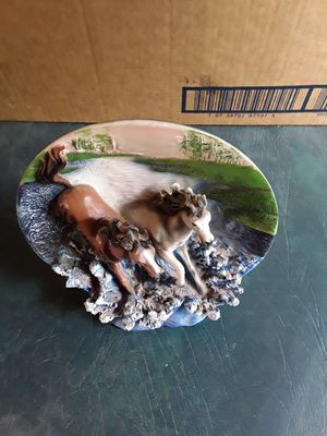 3D horse plate for Sale in Linden, PA