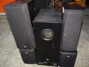 Onkyo powered sub and surrond speakers for Sale in Nashville, TN