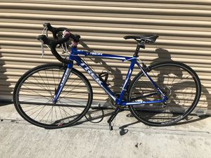 Trek (2010) 1.1 Aluminum road bicycle size 54cm (blue and white) for Sale in El Cajon, CA