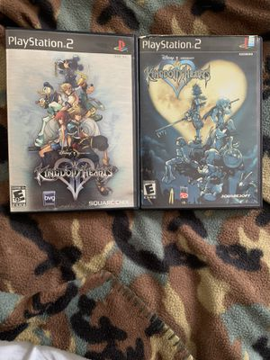 Kingdom Hearts 1 & 2 Ps2 for Sale in Los Angeles, CA