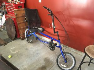 Sun recumbent bike for Sale in Heidelberg, PA