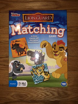 Lion Guard Matching Game for Sale in La Grange, IL