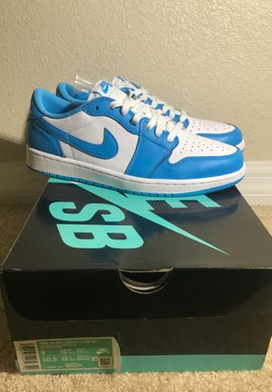 "Eric Koston x Jordan 1 low Sb ""Powder Blue"" sz 9 for Sale in Tampa, FL"