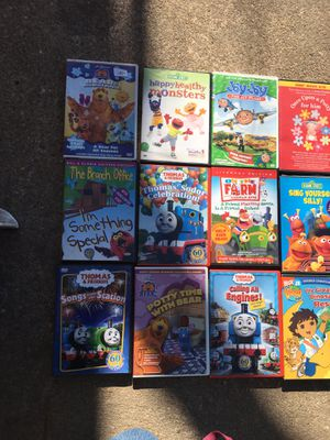 Kids DVDs 3 $ each for Sale in Glen Burnie, MD