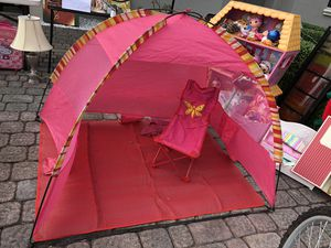 Beach tent with chair for Sale in Miami, FL