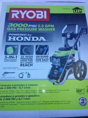 Ryobi gas pressure washer for Sale in Atlanta, GA