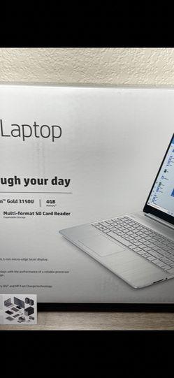 New Sealed 15inch HP Laptop AMD Athlon Processor 4gb RAM 256gb SSD Windows 10 S Mode with Receipt for Sale in Fresno,  CA