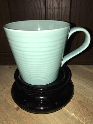 11 Oz. Royal Doulton Gordon Ramsay Maze Blue WWRD Coffee Cup Tea Mug for Sale in Sacramento, CA