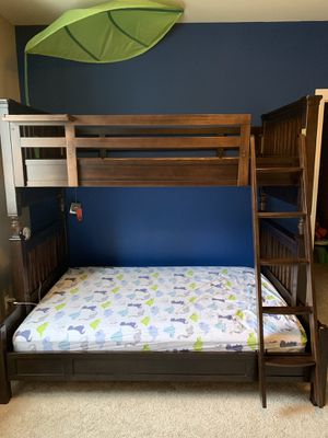 100% wooden bed and mattress for Sale in Gig Harbor, WA