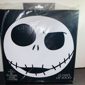 The Nightmare Before Christmas 12 Days Of Socks Advent for Sale in Gastonia, NC