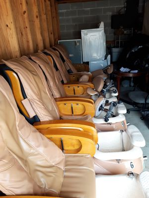 Commercial Pedicure Chairs with the massage and come with little chair for Sale in Montgomery, AL