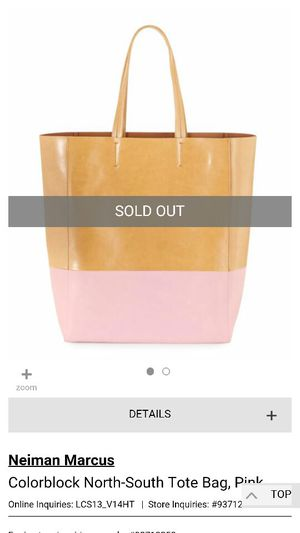 Newman Marcus Colorblock North-South Tote Bag for Sale in Derby, KS