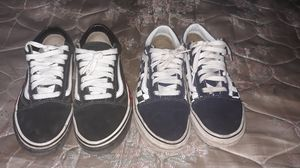 """Size 7 VANS """"fire flame""""&""""checker flame old skool"""" for Sale in Miami, FL"""