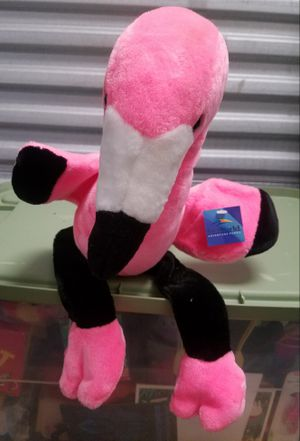 RARE REALISTIC HOT CLIMATE LONG LEGGED PINK FLAMINGO SEA WORLD PLUSH DOLL New With Hang Tag for Sale in San Diego, CA