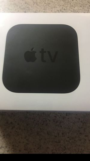 Apple TV new for Sale in Raleigh, NC