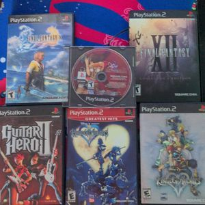 Set Of PlayStation 2 Games for Sale in San Jose, CA